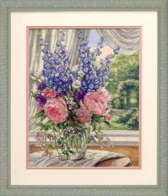 Peonies and Delphiniums DIMENSIONS 35257