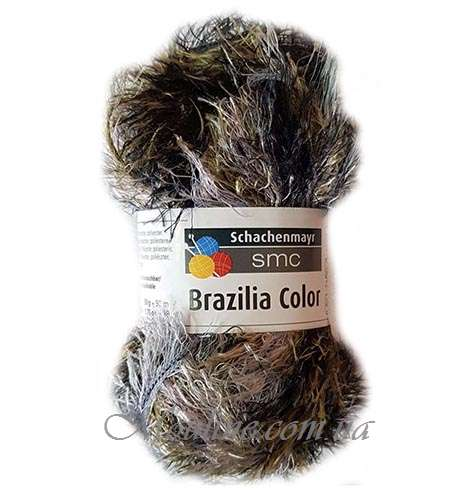 Пряжа Brazilia Color 50 г цвет 00123