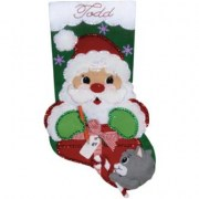 Design Works Crafts Santa's Present 5229