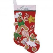 Design Works Crafts Gingerbread Friends 5240