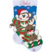 Design Works Crafts Sock Monkey 5241