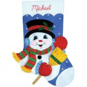 Design Works Crafts Snowman 5055