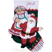 Design Works Crafts Dancing Claus 5088