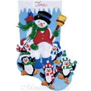 Design Works Crafts Penguin Party 5095
