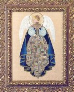 Angel of Love Cross Stitch by Lavender and Lace LL25