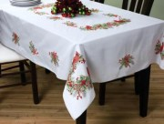Stamped Cross Stitch Tablecloth 86368 Bucilla
